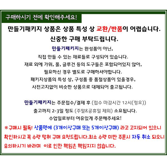 [만들기패키지] 할로윈장식품 (5개이상구매) - 청양토이, 3,000원, 종이공예/북아트, 종이공예 패키지